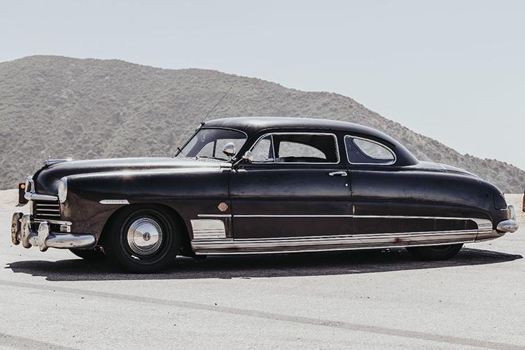 Hudson coupe 1949 color negro chasis semi monocasco