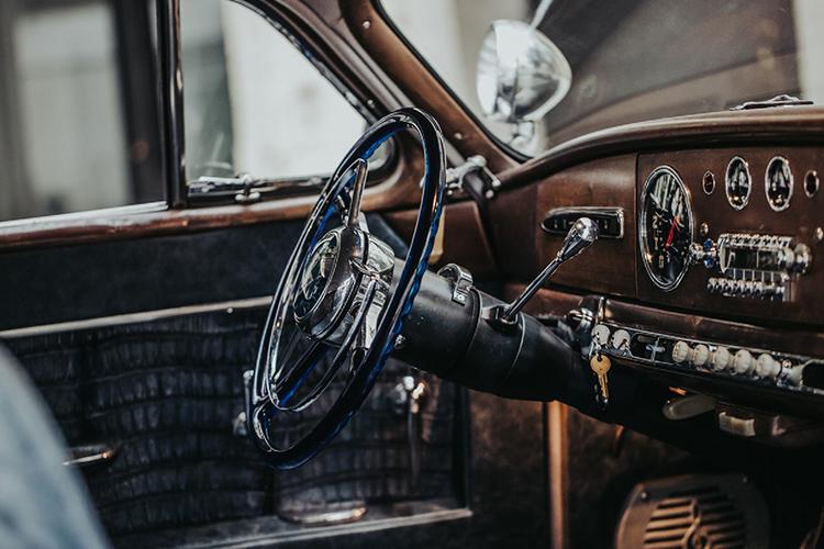 restaurado asientos nuevo volante