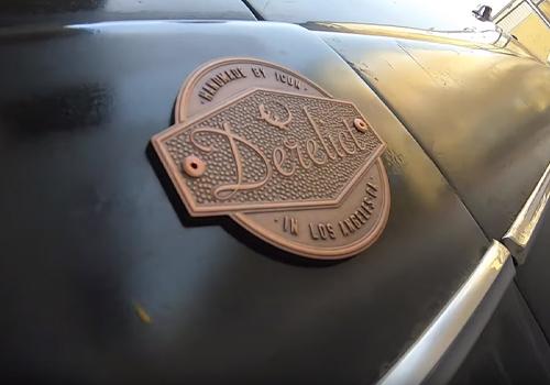 Hudson coupe restaurado derelict detalles originales en exterior