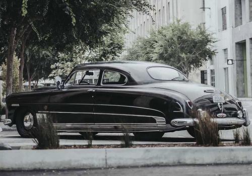 Hudson coupe restaurado nuevo motor