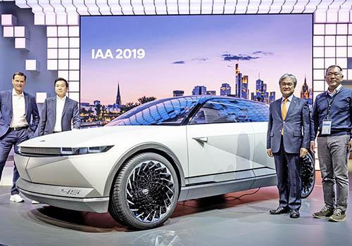 Hyundai 45 IAA 2019 presentacion oficial en Auto Show de Frankfurt