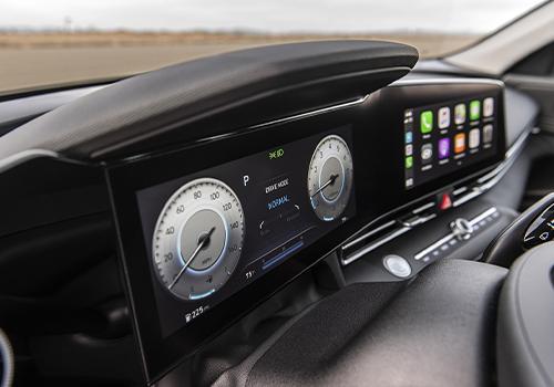 Hyundai Elantra 2021 cuadro de instrumentos