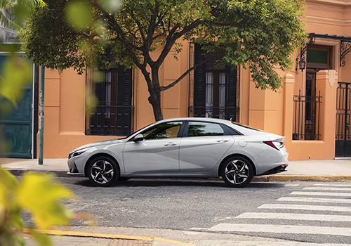Hyundai Elantra 2021 diseño