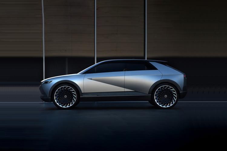inspirado en el 45 EV Concept