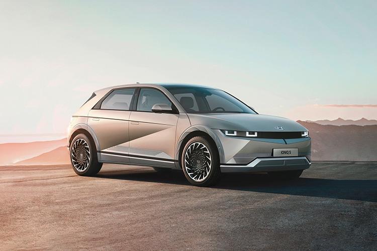 Hyundai Ioniq 5 nuevo totalmente eléctrico carrocería diseño