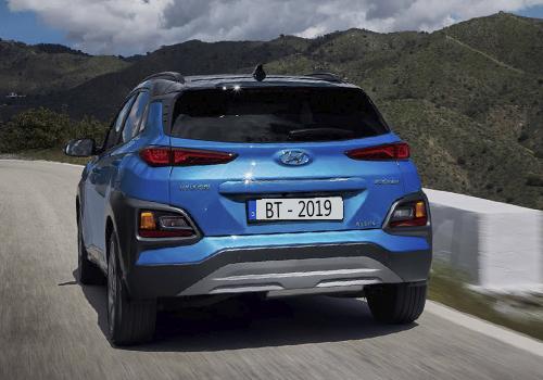 Hyundai Kona en version a gasolina, híbrida y eléctrica