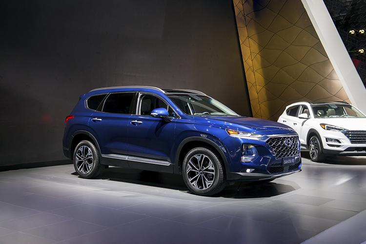 Hyundai Santa Fe generación actual SUV
