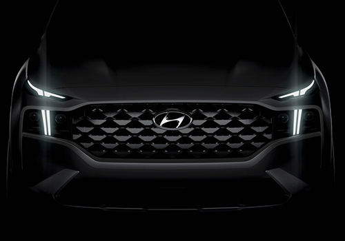 Hyundai Santa Fe primer teaser SUV