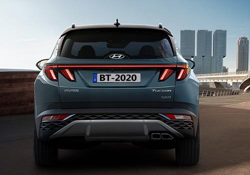 Hyundai Tucson 2022 rendimiento potencia