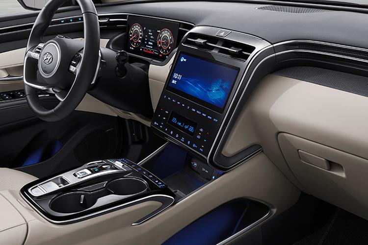 Hyundai Tucson 2022 sistema de infoentretenimiento
