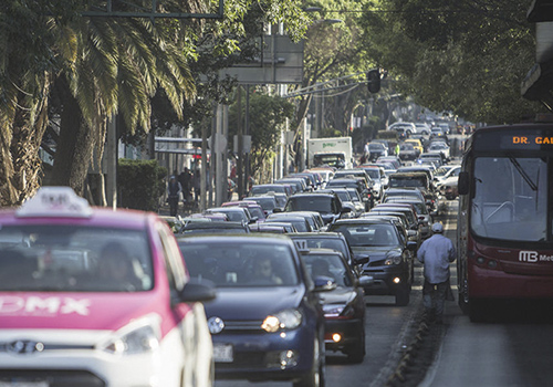 Indices de contaminacion en la Ciudad de México