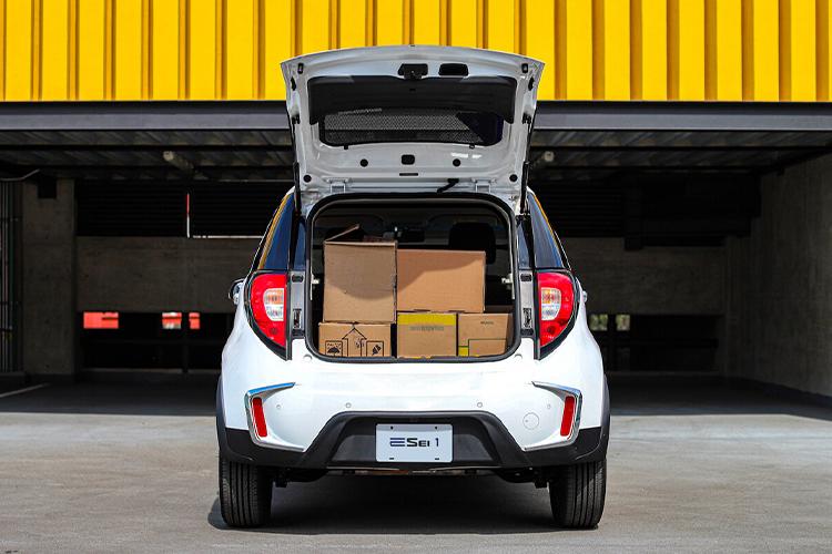 JAC E Sei1 Cargo totalmente eléctrico carrocería tecnología