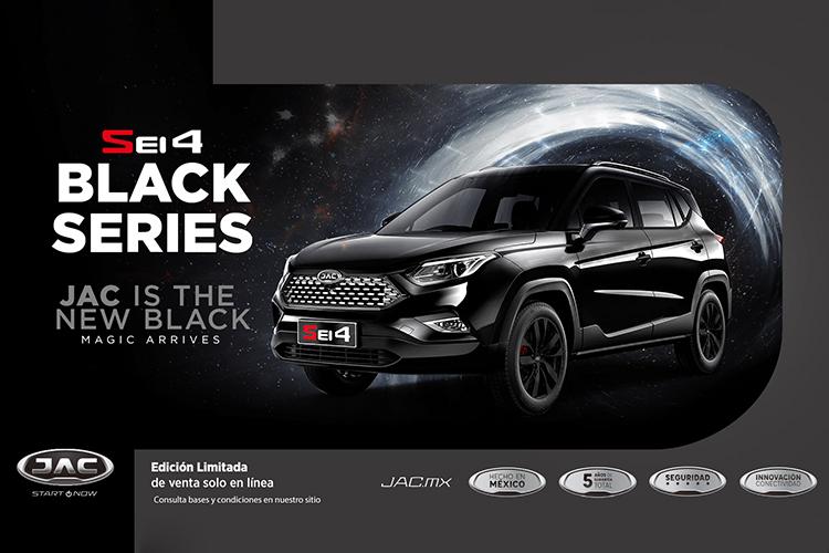 JAC Sei4 Black Series edición especial con solo 8 unidades