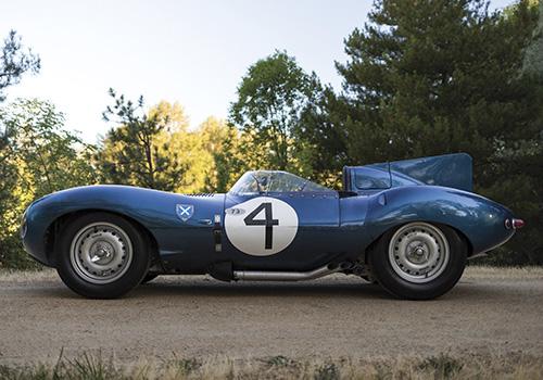 Jaguar D-Type 1955 subastado