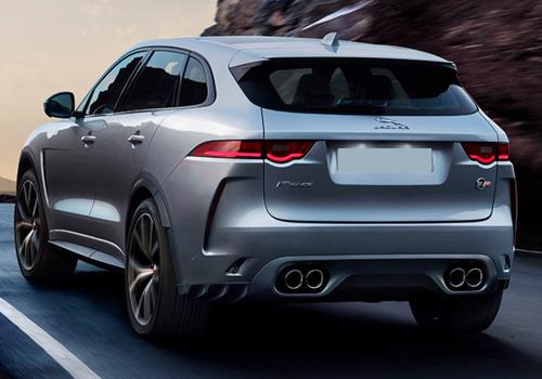 Jaguar F-Pace SVR con rines de 22 pulgadas