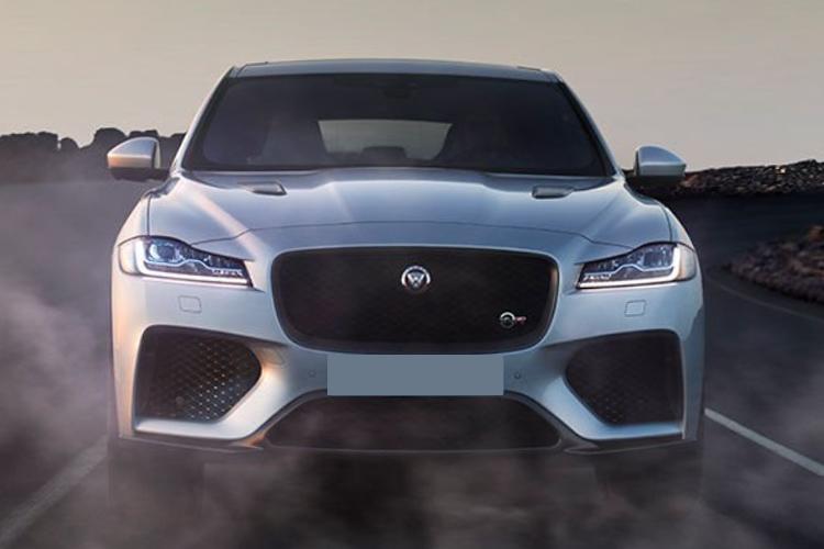 Jaguar F-Pace, vehiculo con más de 500 caballos de fuerza
