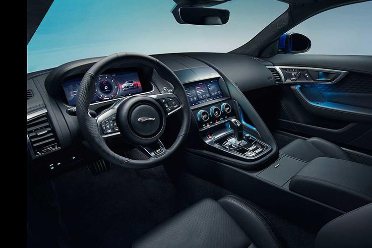 Jaguar F-Type 2020 sistema de infoentretenimiento
