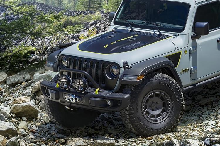 Jeep Gladiator Farout Concept potencia