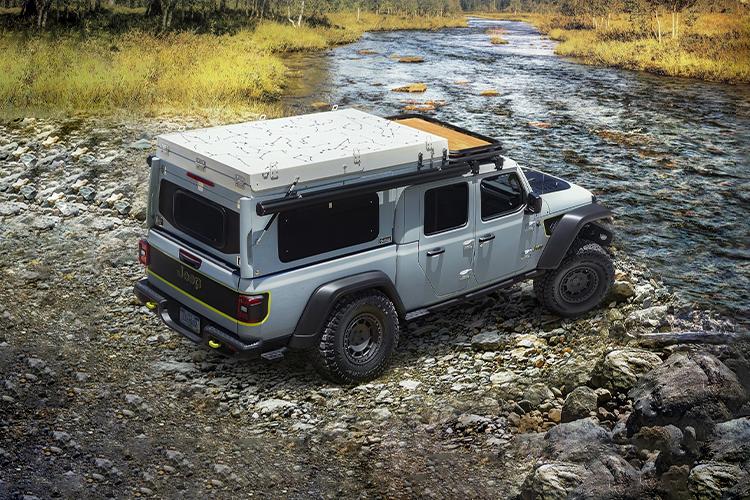 Jeep Gladiator Farout Concept tecnología