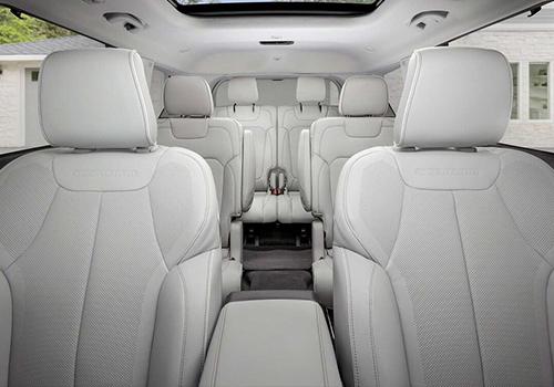 diseño interior asiento tres filas