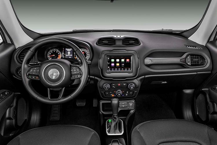 Jeep Renegade 2020 sistema de infoentretenimiento