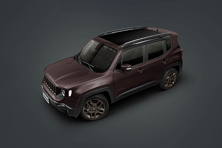 Jeep Renegade Bronze Edition 2021 diseño