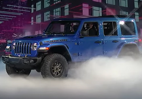Jeep Wrangler Rubicon 392 pick-up rediseñado