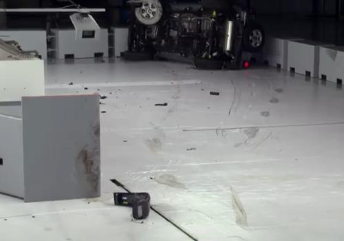 Jeep Wrangler se vuelca seguridad para pasajeros