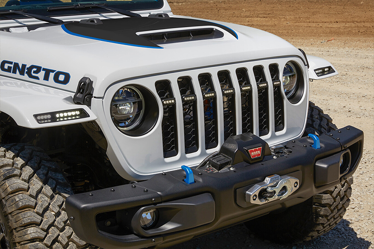 Jeep diseña concept cars para Easter Jeep Safari Jeep Magneto concept car diseño