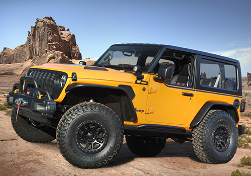 Jeep diseña concept cars para Easter Jeep Safari Jeep Orange Peelz