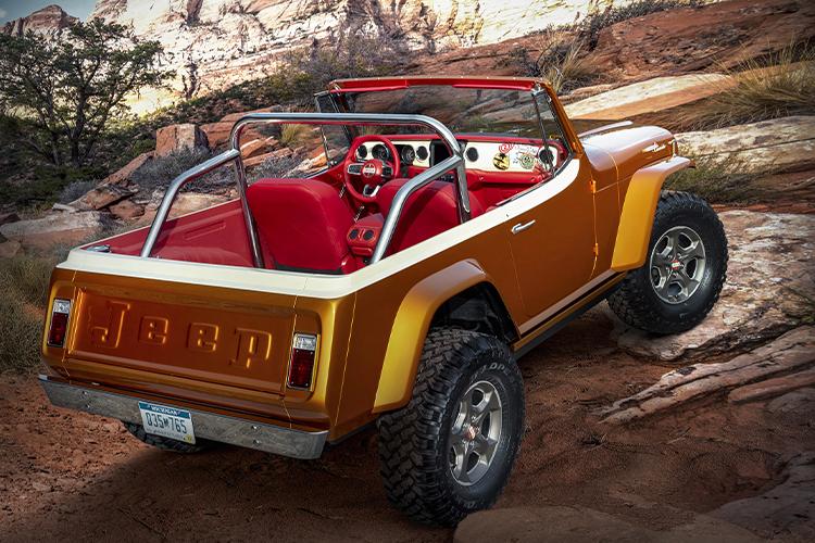 Jeep diseña concept cars para Easter Jeep Safari Jeepster Beach modelos diseños carrocería