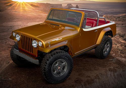 Jeep diseña concept cars para Easter Jeep Safari Jeepster Beach