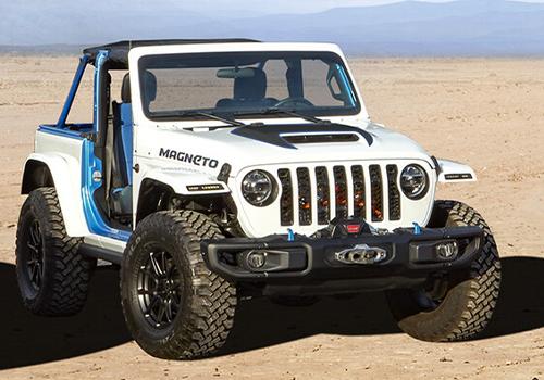 concept cars para Easter Jeep Safari con primer electrico Jeep Magneto concept car diseño tecnologia