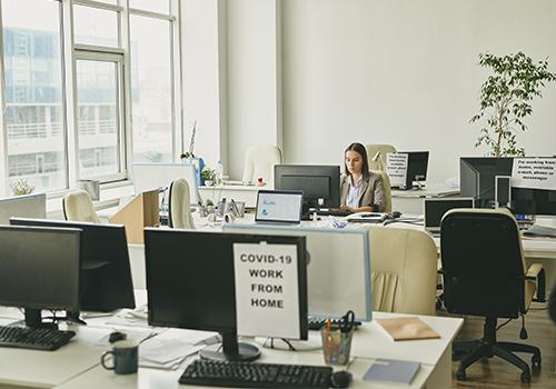 Jobsora regresando a la nueva normalidad personal oficina