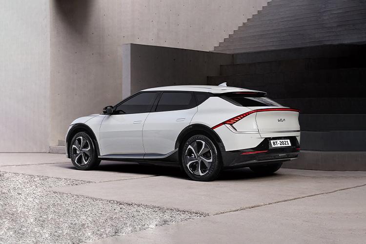 Kia EV6 crossover totalmente eléctrico nuevos modelos diseño