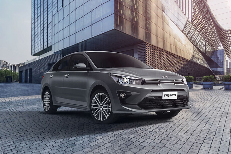 Kia Rio 2021 disponible en México