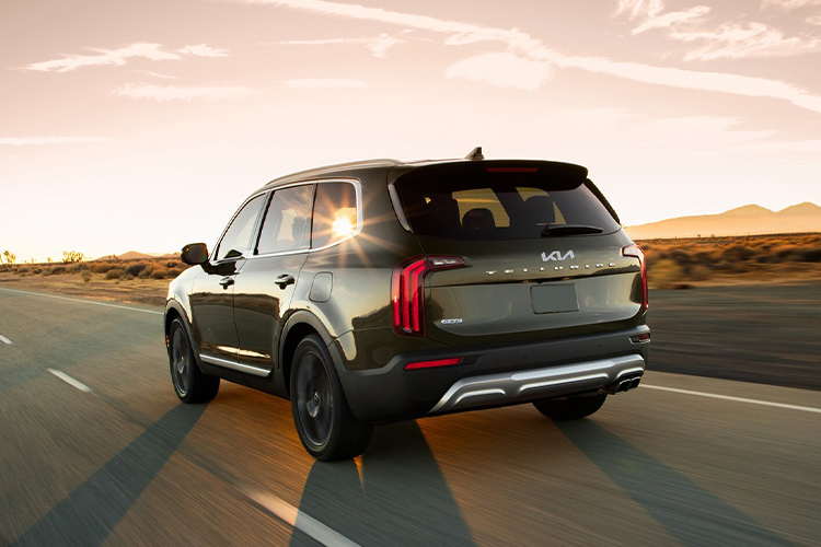 Kia Telluride 2022 rediseñado innovaciones tecnología carrocería SUV diseño