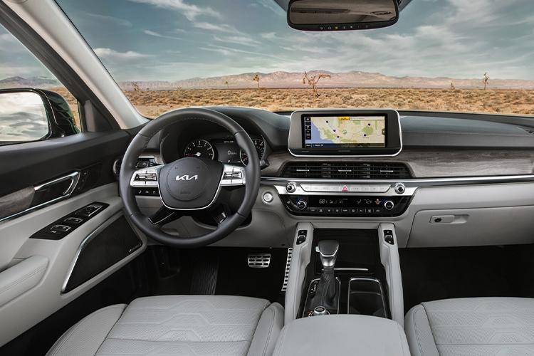 Kia Telluride 2022 rediseñado sistema de infoentretenimiento pantalla innovaciones