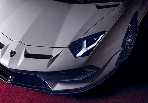 Lamborghini Aventador SVJ Xago faros