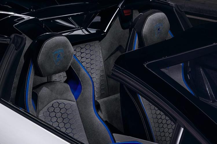 Lamborghini Aventador SVJ Xago hypercar asientos