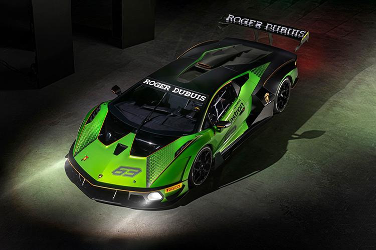 Lamborghini Essenza SCV12 hypercar de circuito tecnología