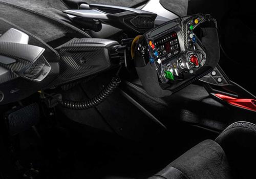 SCV12 hypercar de circuito volante tipo Fórmula 1