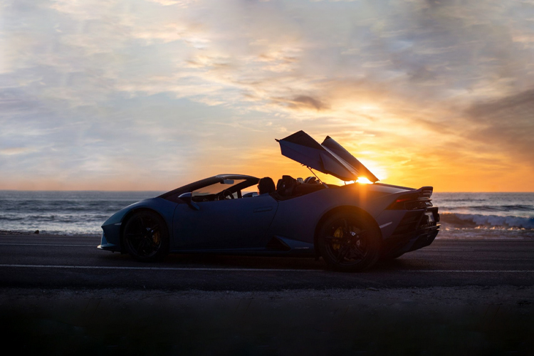 Lamborghini Huracán EVO RWD Spyder descapotable diseño