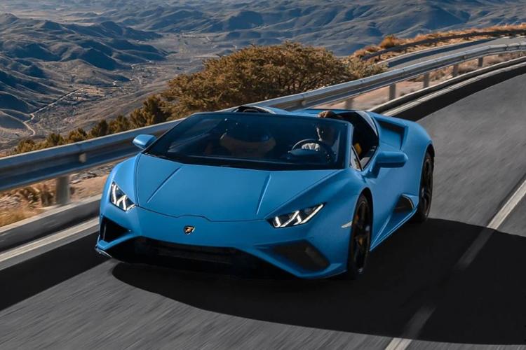 Lamborghini Huracán EVO RWD Spyder hypercar