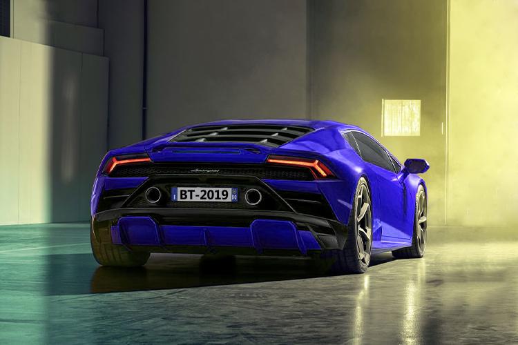 Lamborghini Huracán EVO RWD carrocería biplaza