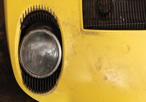 Lamborghini Miura P400 S sin restauracion