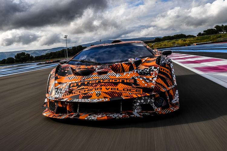 Lamborghini SCV12 diseñado para circuito