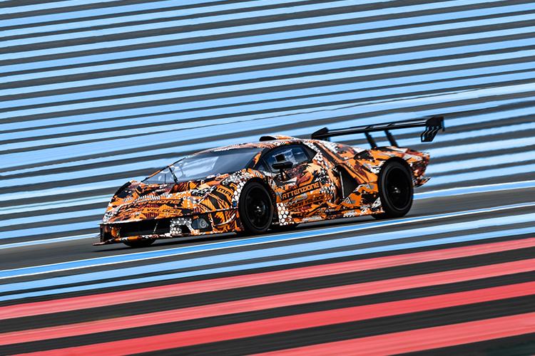 Lamborghini SCV12 uno de los más potentes