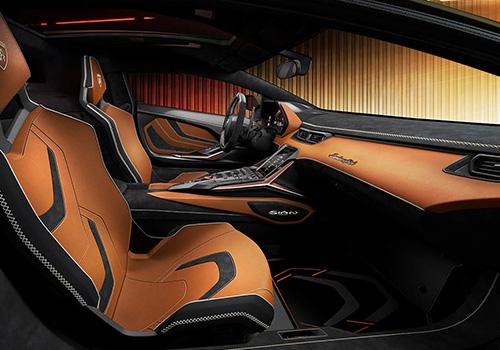 Lamborghini Sian asientos