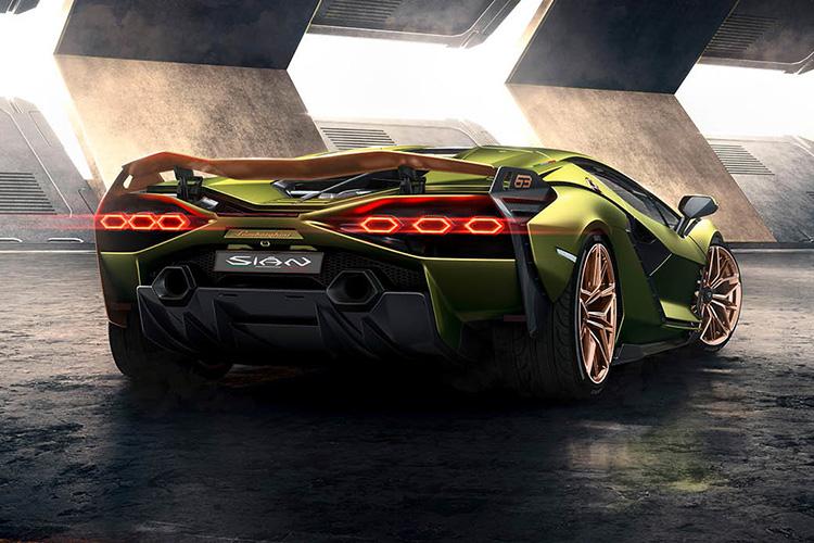 Lamborghini Sian hypercar innovaciones y tecnologia